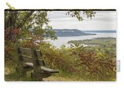 Mississippi River Lake Pepin 8 Carry-all Pouch