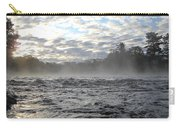 Mississippi River Mist Over Rushing Water Carry-all Pouch