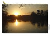 Mississippi River Perfect Sunrise Carry-all Pouch
