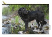 Mississippi River Posing Dog Carry-all Pouch