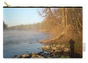 Mississippi River Shades Of Fog Carry-all Pouch