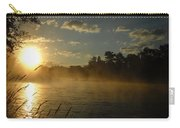 Mississippi River Sunrise Fog Carry-all Pouch