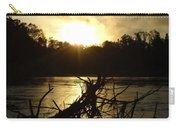 Mississippi River Sunrise Tree Roots Carry-all Pouch