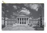 Mississippi State Capitol Bw Carry-all Pouch