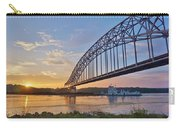 Mississippi Sunrise Crossing Carry-all Pouch
