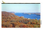 Mississippi Views From Grafton Bluffs Carry-all Pouch