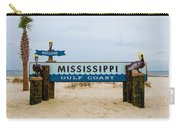 Mississippi Welcome Carry-all Pouch