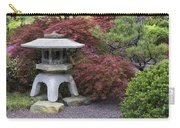 Missouri Botanical Garden A Japanese Snow Viewing Lantern Spring Time Dsc01783 Carry-all Pouch