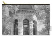 Missouri Botanical Garden Henry Shaw Crypt Infrared Black And White Carry-all Pouch