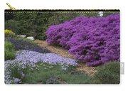 Missouri Botanical Garden Purple Azaleas Dsc01692 Carry-all Pouch