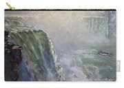 Mist At Horseshoe Falls  Carry-all Pouch