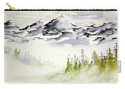 Mist In The Mountains Carry-all Pouch