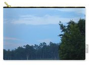Mist Rolls In And Blue Sky At Sunset Carry-all Pouch