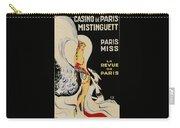 Mistanguette At The Casino De Paris Carry-all Pouch