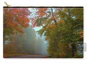 Misty Autumn Road Carry-all Pouch