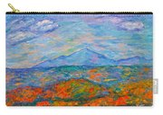 Misty Blue Ridge Autumn Carry-all Pouch