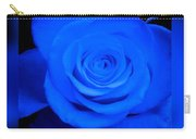 Misty Blue Rose Carry-all Pouch