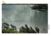 Misty Bridge At Heceta Head Carry-all Pouch