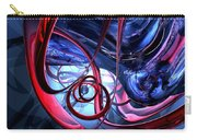 Misty Dreams Abstract Carry-all Pouch