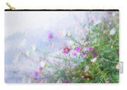 Misty Floral Spray Carry-all Pouch