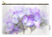 Misty Hydrangea Flower Carry-all Pouch