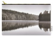 Misty Morning On Slipper Lake Carry-all Pouch
