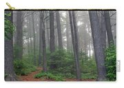 Misty Morning In An Algonquin Forest Carry-all Pouch