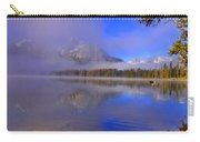 Misty Morning On A Canoe Carry-all Pouch