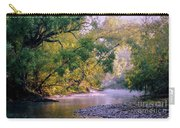Misty Morning On Nariel Creek Carry-all Pouch