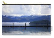 Misty Morning On Priest Lake Carry-all Pouch