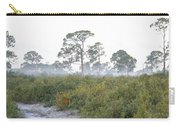 Misty Morning On The Trail Carry-all Pouch