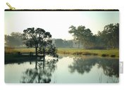 Misty Morning Pond Carry-all Pouch