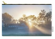 Misty Morning Sunrise - Valley Forge Carry-all Pouch