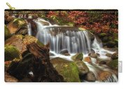 Misty Morning Waterfall Carry-all Pouch