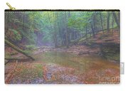 Misty Morning Woodscape Two Carry-all Pouch