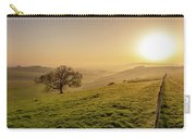 Misty South Downs Way Carry-all Pouch