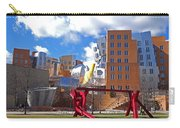 Mit Stata Center Cambridge Ma Kendall Square M.i.t. Sculpture Carry-all Pouch