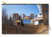 Mit Stata Center Cambridge Ma Kendall Square M.i.t. Staircase Carry-all Pouch
