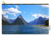 Mitre Peak In Milford Sound New Zealand Carry-all Pouch