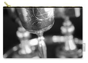 Mitzvah Cup Black And White Carry-all Pouch
