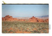 Mix Media Valley Of Fire  Carry-all Pouch