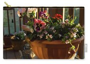 Mixed Basket, Balcony Garden, Hunter Hill, Hagerstown, Maryland, Carry-all Pouch