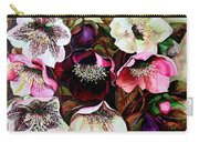 Mixed Hellebore Carry-all Pouch