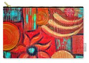 Mixed Media Abstract  Carry-all Pouch