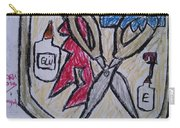Mixed-media Mobb Carry-all Pouch