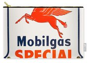 Mobil Gas Vintage Sign Carry-all Pouch