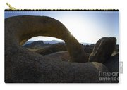 Mobius Arch Alabama Hills California 2 Carry-all Pouch