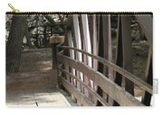 Mocha Colored Walking Bridge In American Fork Canyon Utah Carry-all Pouch