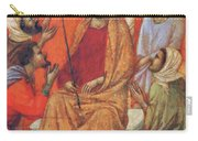 Mockery Of Christ Fragment 1311 Carry-all Pouch