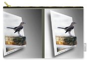Mockingbird - Gently Cross Your Eyes And Focus On The Middle Image Carry-all Pouch
